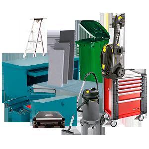 ferreteria_suministro_industrial_equipamiento_taller_herramientas_bancos_escaleras_estanterias_cubetas_contenedores